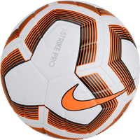 Nike Strike Pro Team (5) Trainingsbal - Wit / Oranje