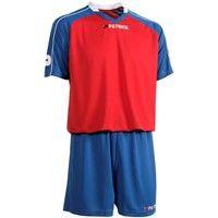 Patrick Granada301 Voetbalset Korte Mouw - Rood / Royal / Wit