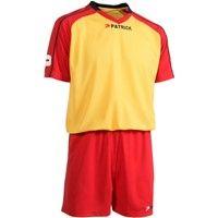 Patrick Granada301 Voetbalset Korte Mouw - Geel / Rood / Marine