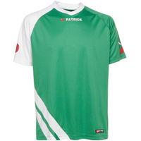 Patrick Victory Shirt Korte Mouw Kinderen - Groen / Wit