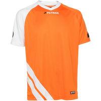 Patrick Victory Shirt Korte Mouw Kinderen - Oranje / Wit