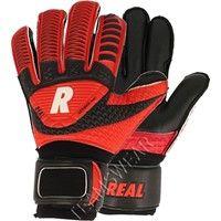 Real Twin Force Keepershandschoenen Kinderen - Zwart / Rood