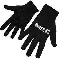 Reece Knitted Spelershandschoenen - Zwart