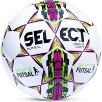 Select Futsal Mimas Light Voetbal Kinderen - Wit / Fuchsia / Groen