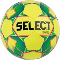 Select Futsal Attack (Shiny) Voetbal - Geel / Fluo Oranje