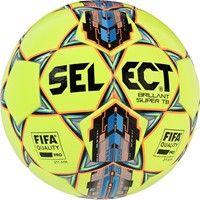 Select Brillant Super Tb (2018) Wedstrijdbal - Geel / Blauw / Oranje