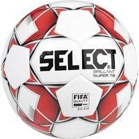 Select Brillant Super Tb Wedstrijdbal - Wit / Rood