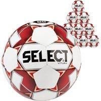 Select Vitura 10x Ballenpakket - Rood / Wit