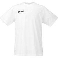 Spalding Promo T-shirt Kinderen - White