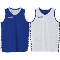 Spalding Essential 2.0 Reversible Shirt Kinderen - Royal / Wit