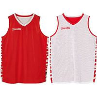 Spalding Essential 2.0 Reversible Shirt Kinderen - Rood / Wit
