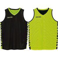 Spalding Essential 2.0 Reversible Shirt Kinderen - Zwart / Fluogeel
