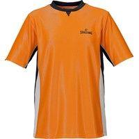 Spalding Pro Scheidsrechtersshirt - Oranje / Zwart