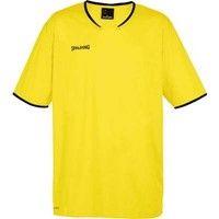 Spalding Move Shooting Shirt - Fluogeel / Zwart