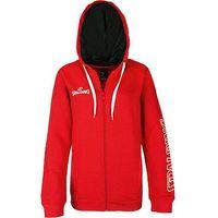 Spalding Team Ii 4Her Sweater Met Kap Dames - Rood