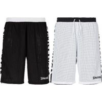 Spalding Essential 2.0 Reversible Short Kinderen - Zwart / Wit