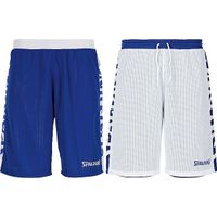Spalding Essential 2.0 Reversible Short Kinderen - Royal / Wit