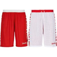 Spalding Essential 2.0 Reversible Short Kinderen - Rood / Wit