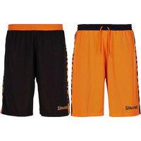 Spalding Essential 2.0 Reversible Short Kinderen - Zwart / Oranje