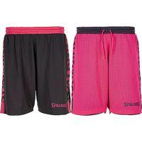 Spalding Essential 4her Reversible Short Dames - Antraciet / Roze