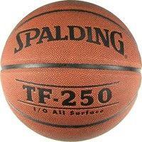 Spalding Tf 250 In/outdoor (size 6) Basketbal Dames - Oranje