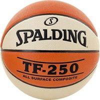 Spalding Tf 250 Basketbal Dames - Oranje / Wit