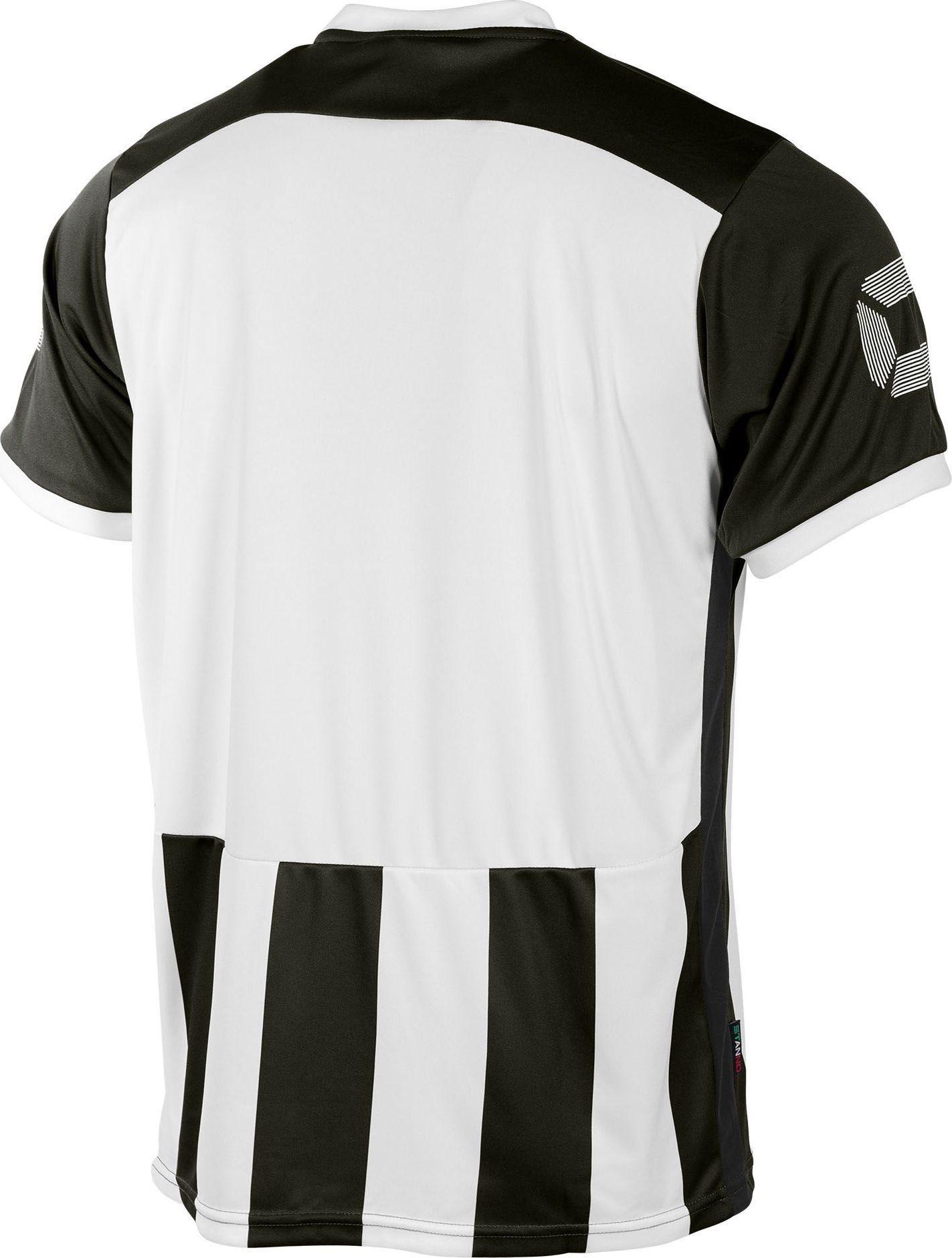 acf50b976e42d4 Stanno Brighton Shirt Korte Mouw - Zwart / Wit