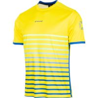 Stanno Fusion Shirt Korte Mouw - Geel / Royal