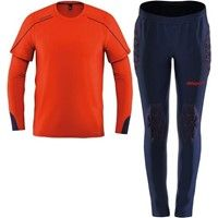 Uhlsport Stream 22 Keeperstenue Kinderen - Fluorood / Marine