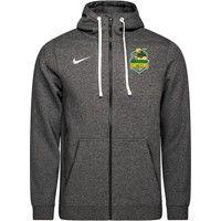 Nike Club 19 Sweater Met Rits - Charcoal
