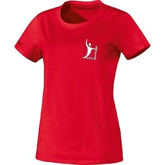 Picture of Jako Team T-Shirt Dames - Rood