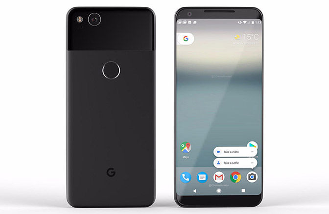 google pixel 2 xl android