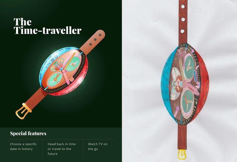 Time-Traveller By Karina Davies