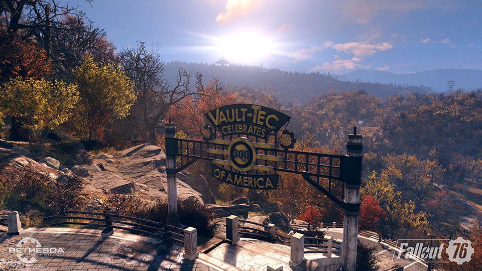 Fallout 76 Vault 76 entrance