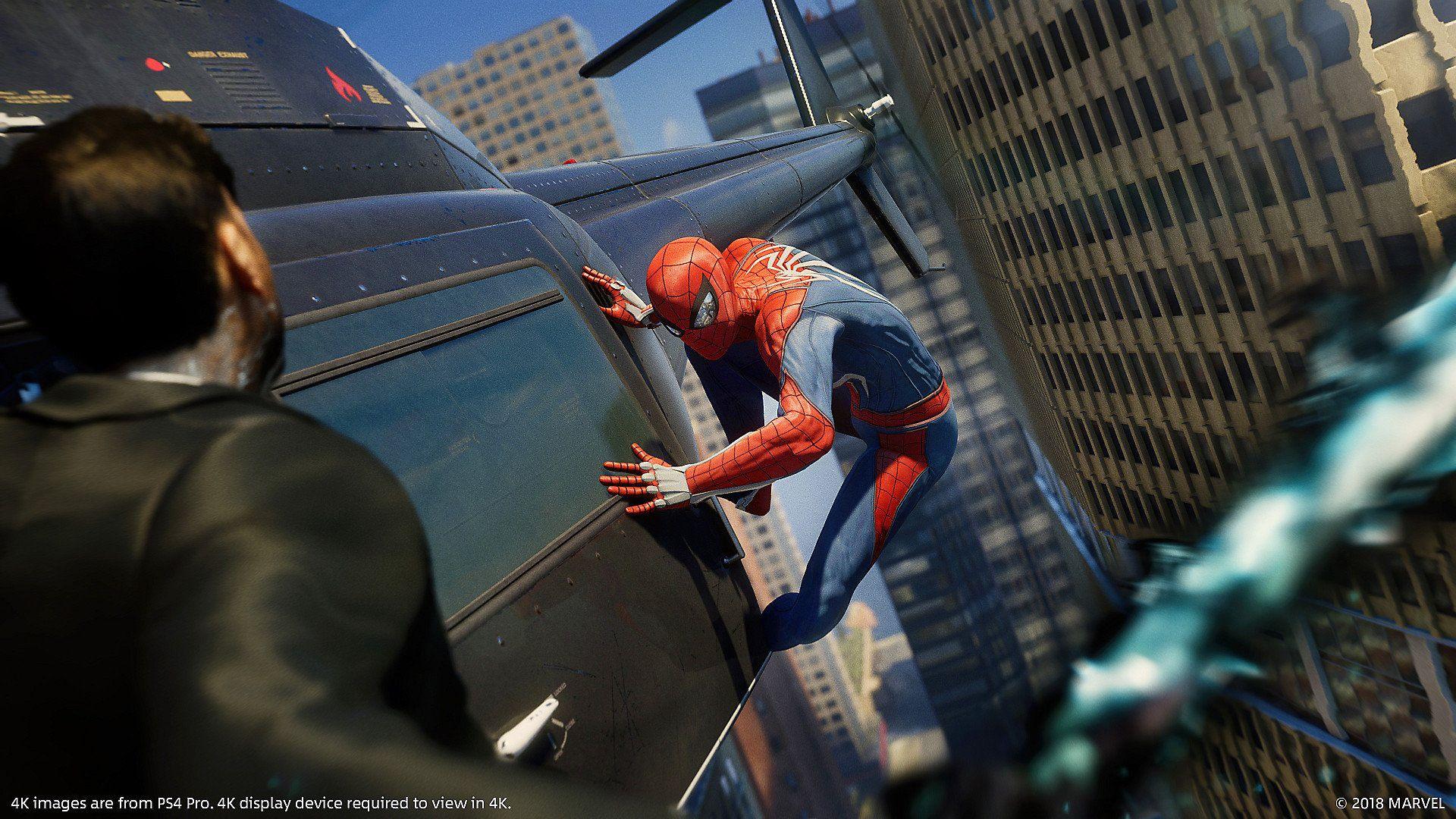 Marvel's Spiderman 2018 gameplay