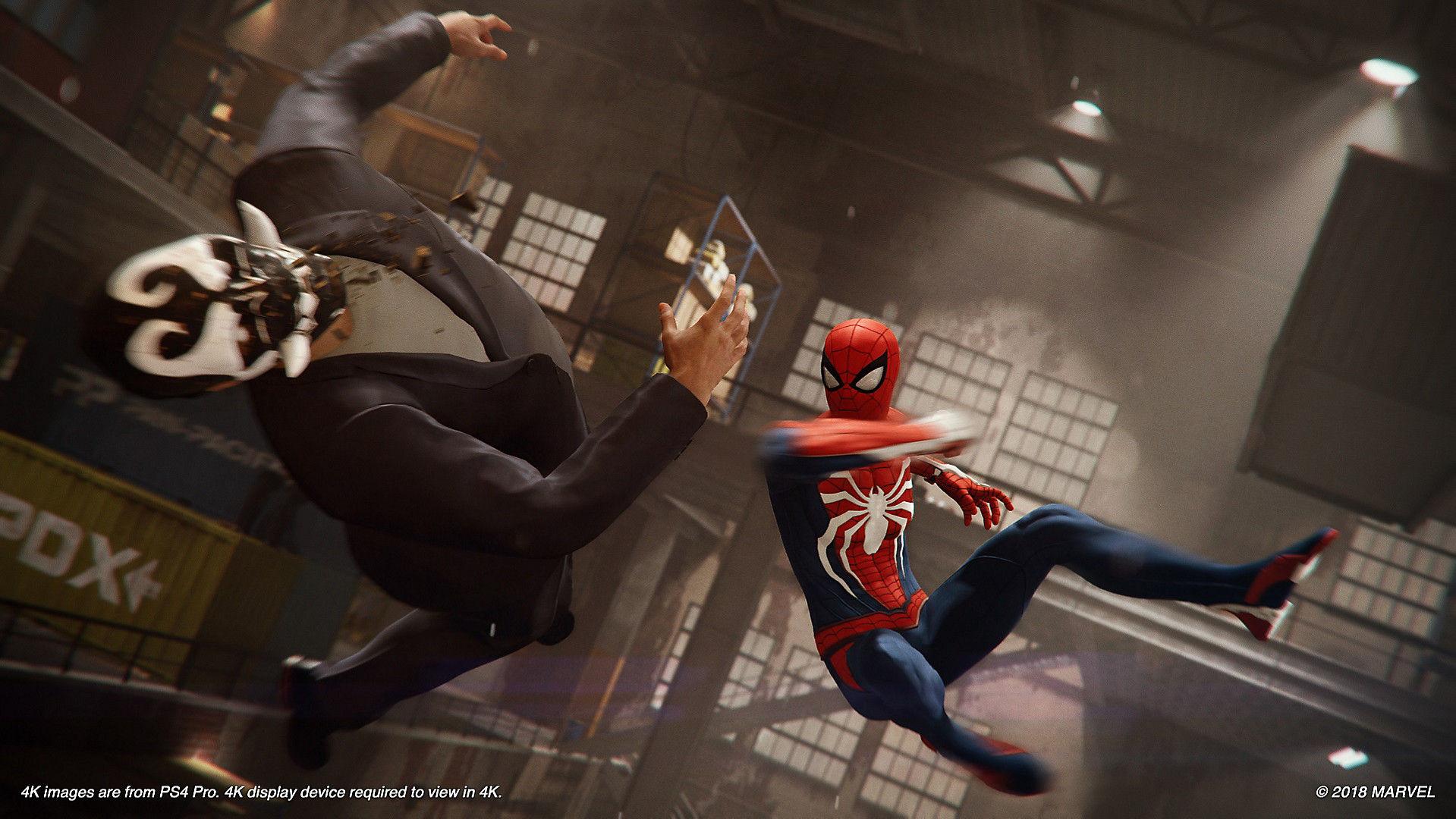 Marvel's Spiderman 2018 storyline