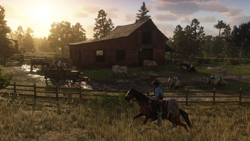The first gameplay footage of Red Dead Redemption 2