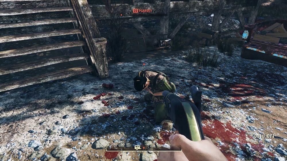 Fallout 76 bugs