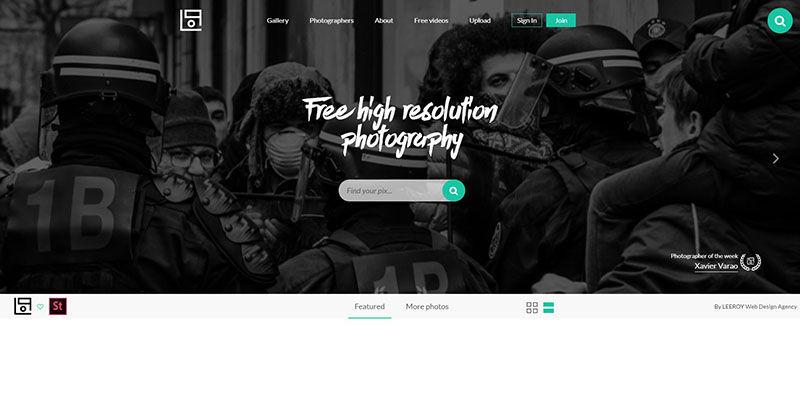 Life of Pix stock photos website