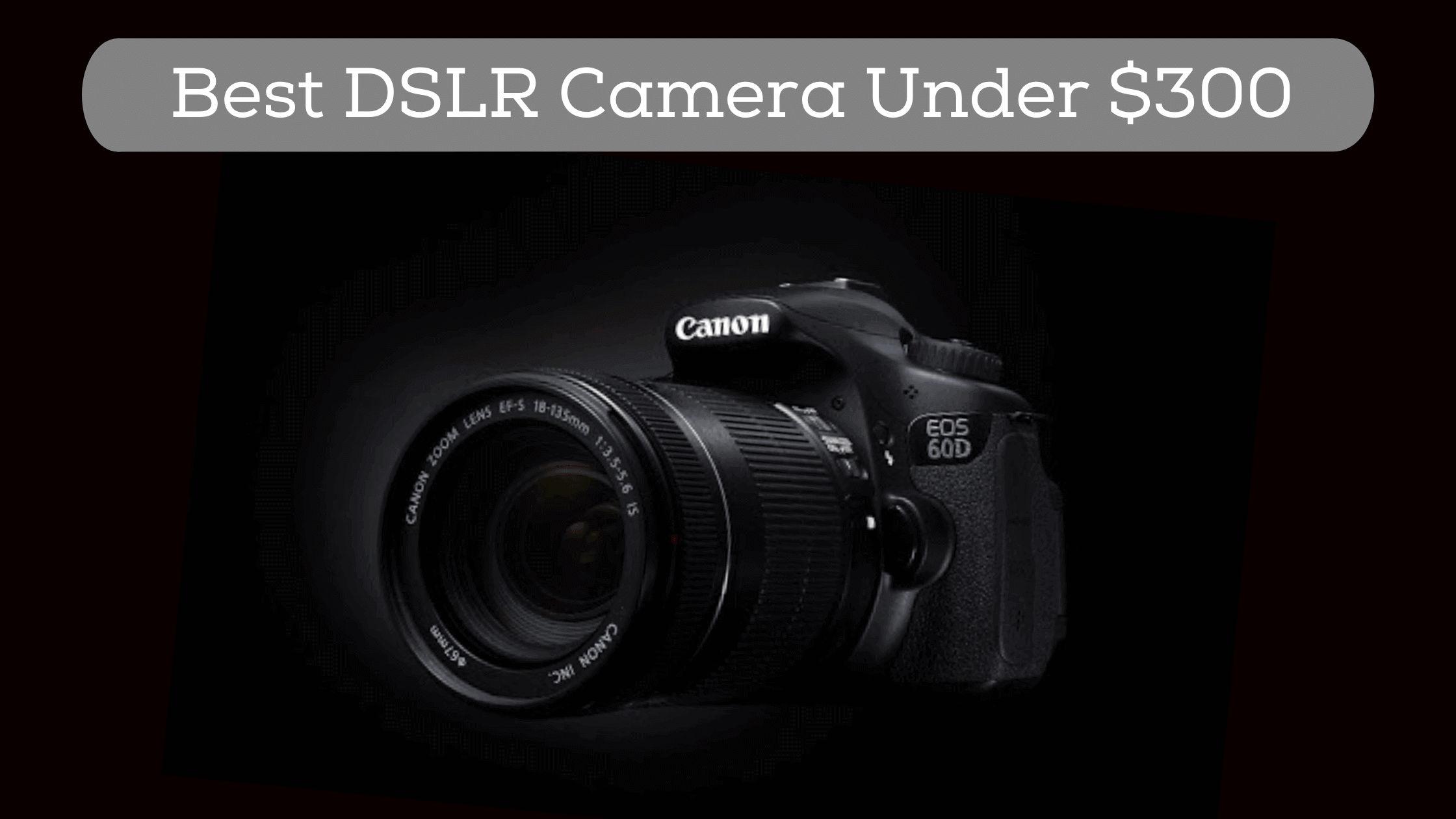 best dslr camera under $300