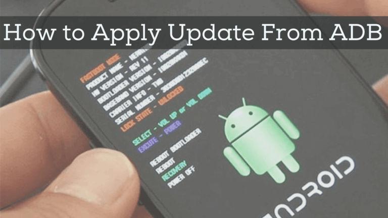 apply update from adb