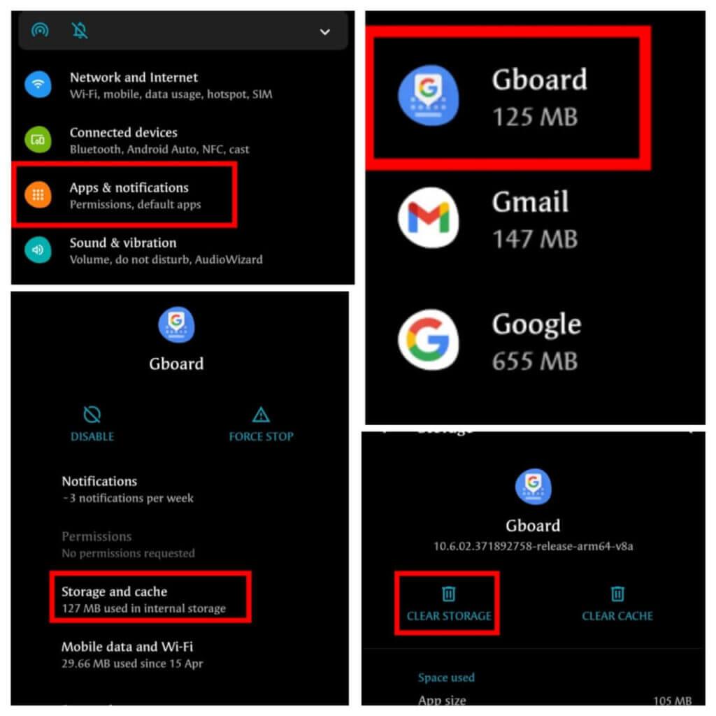 indirect method or via mobile settings