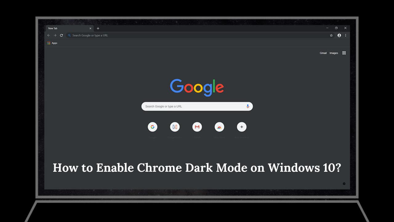 chrome dark mode windows 10