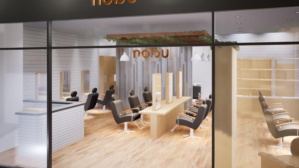 Nobu Salon Jakarta - Desain Interior
