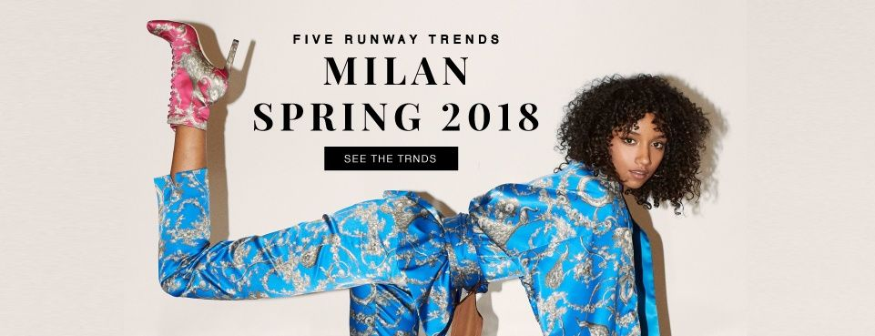 Find the Trends from Milan Fashion Week Here!