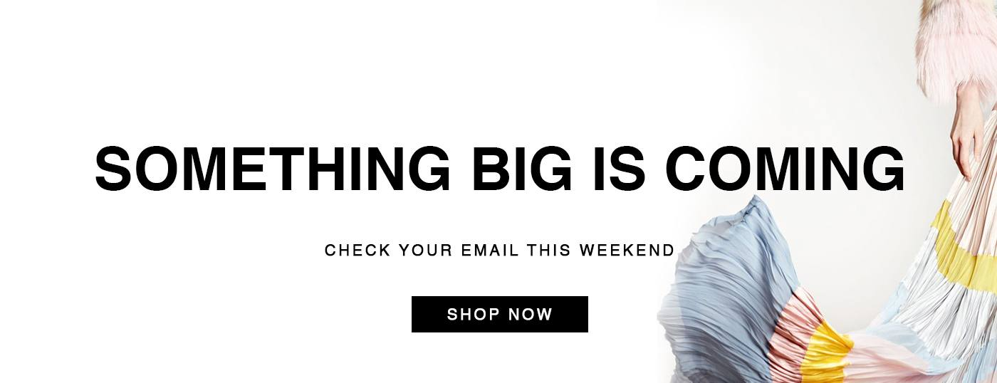 Something Big is Coming! Stock up your carts for the surprise!