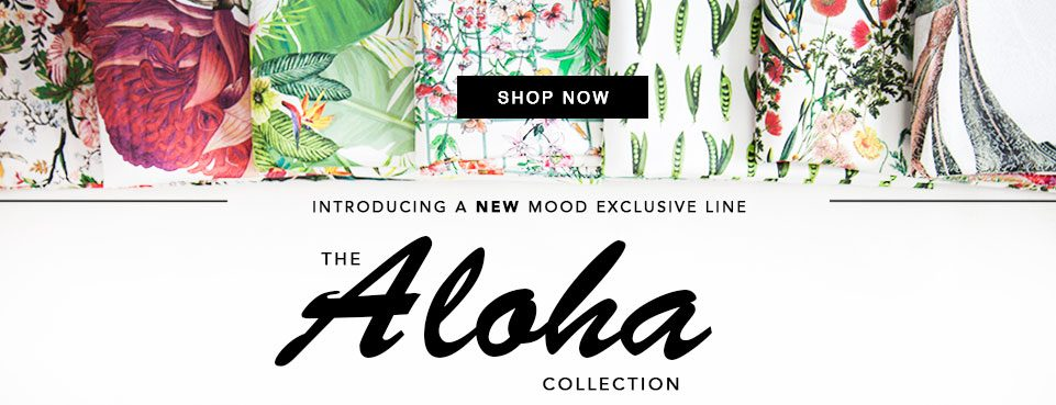 Introducing our NEW Mood Exclusives - The Aloha Collection
