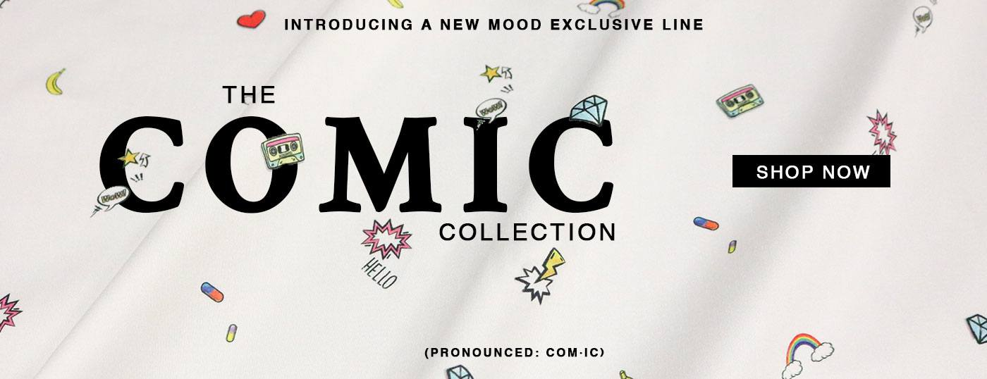 Introducing our NEW Mood Exclusives - The Comic Collection