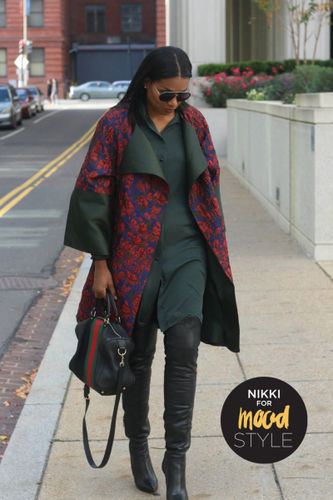Related Mood Sewciety Post - Floral brocade statement coat