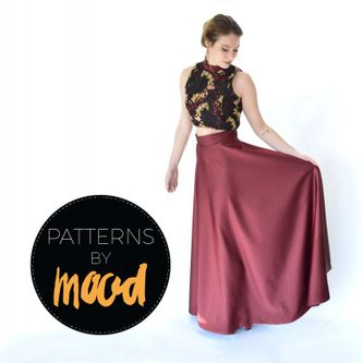 Related Mood Sewciety Post - Mood DIY: Free Two-Piece Prom Dress Pattern